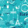 Paris turquoise hivernal by etpourquoipaslalune - aurelie padovani - Sam'Oz