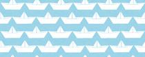 paper boat blanc fond ciel