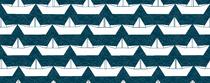 bateau blanc fond marine