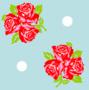 Trois fleurs bleu - Nobre Joana - Sam'Oz