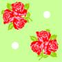 Trois fleurs vert - Nobre Joana - Sam'Oz