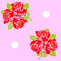 Trois Fluers rose