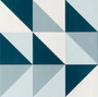 Triangles bleus - Delphine Vanderkerken - Sam'Oz