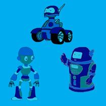 le défilé des robots