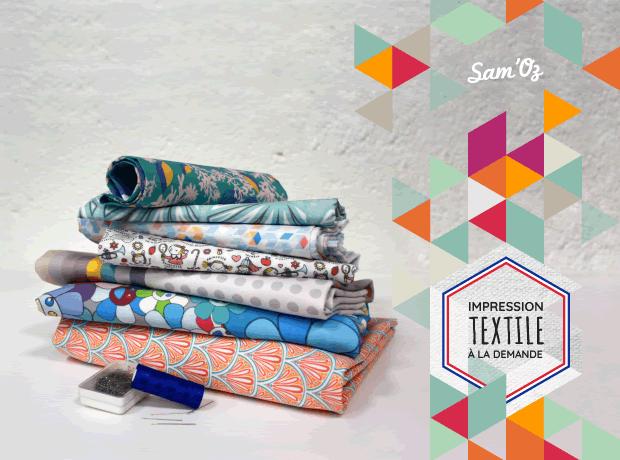 Préférence Bienvenue chez Sam'Oz - Impression numérique textile : du tissu  UK05