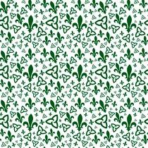 Tissu franco-ontarien (fond blanc)