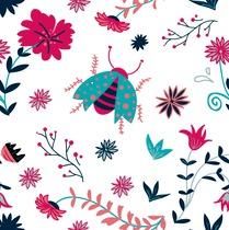 Crazy lady bug