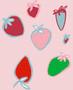 pink strawberry - Dobromila Golowacz - Sam'Oz