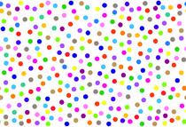 Pois colorés