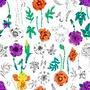 Fleurs verticales - samantha sam - Sam'Oz