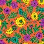 Fleurs Oranges - samantha sam - Sam'Oz