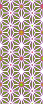 Ashanoha blanc violet vert rose orange jaune