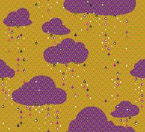 Seigaiha nuages pluie