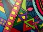 détail peinture sur bois 1 - isabelle MICHIELS - Sam'Oz