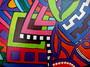 détail peinture sur bois 8 - isabelle MICHIELS - Sam'Oz