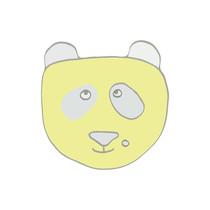 Panda pour coussin/doudou
