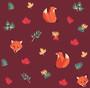 Renards d'automne - Alice Des - Sam'Oz