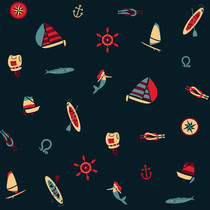 Le motif marin